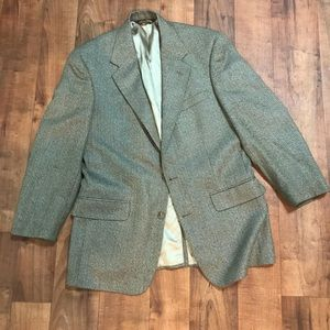 Brooks Brothers brown tweed sport coat